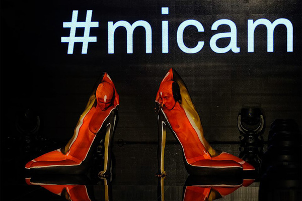 Our Highheel at the world's famous Fair MICAM Milano