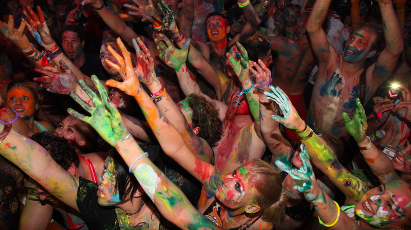 Color Splash Party