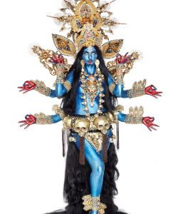 Kali Blue Indian Goddess
